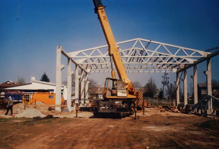 gradnja prve hale